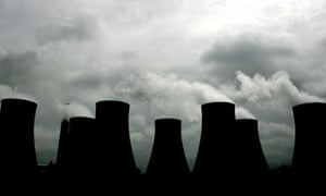 cooling towers at the Ratcliffe power station, Nottinghamshire