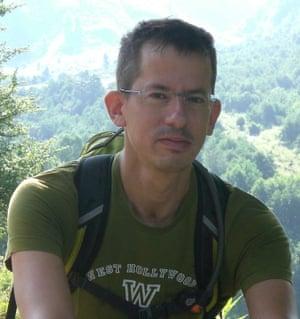 Hagai El-Ad, the director of B'Tselem, an Israeli human rights group.