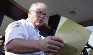Thomas Jackson, who is to step down as Ferguson police chief