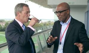 Nigel Farage and Trevor Phillips