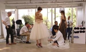 Documentary film still from Dior & I.