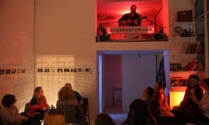 Observatorijum gallery/bar