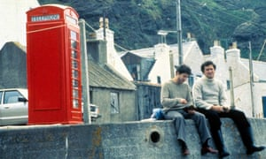 Peter Riegert, Chris Rozycki and the pivotal phonebox in Local Hero.