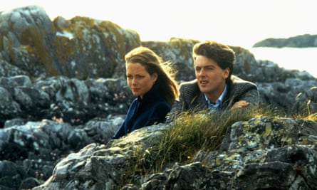 Jenny Seagrove and Peter Capaldi in Local Hero.