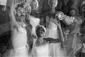 Halloween, 1977, at Studio 54.