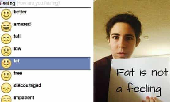 feeling fat campaign image