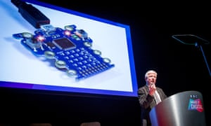 The BBC's Tony Hall at the Make It Digital launch