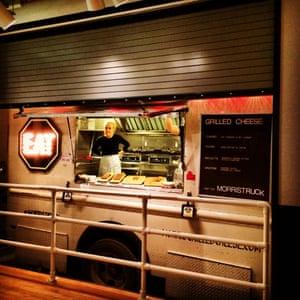 Food truck at Royal Palms