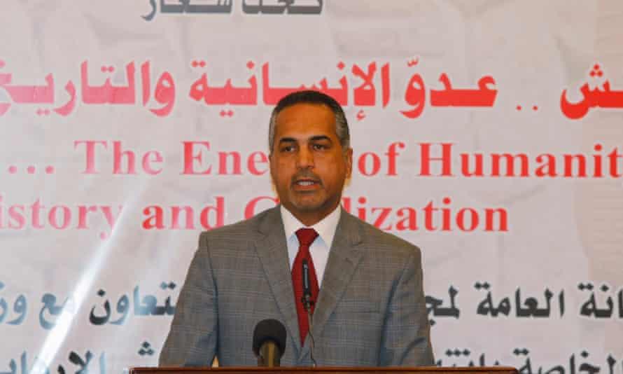 Qais Rasheed, head of Iraq's antiquities board
