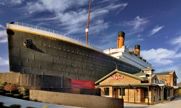 For $27 you can experience the sinking of the Titanic – in