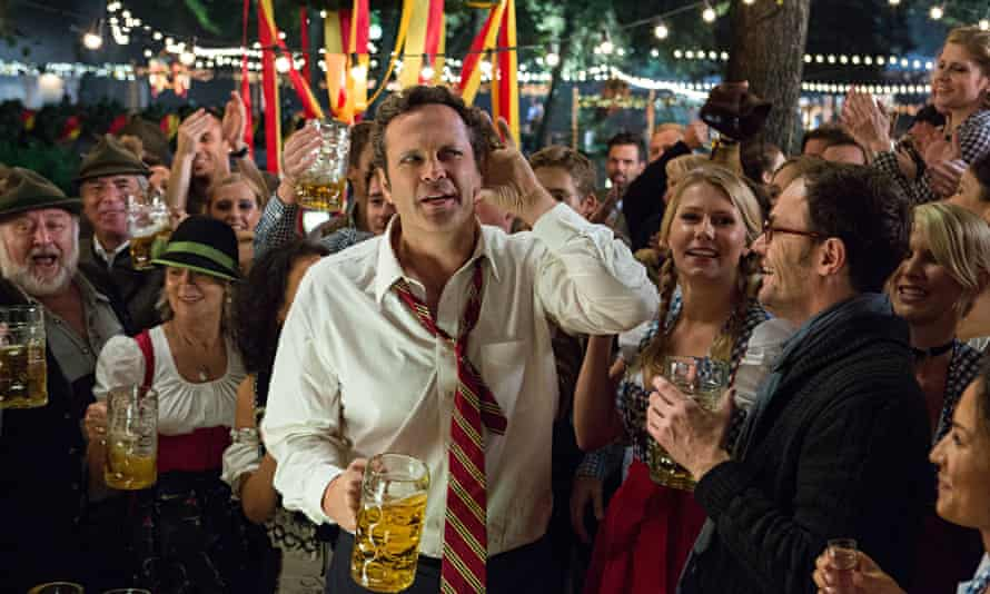 I can't hear you … Vince Vaughn in Unfinished Business.