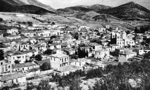 The Greek village of Distomo