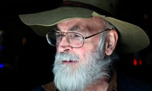 Sir Terry Pratchett was diagnosed with a form of Alzheimer's in 2007. He donated $1m to Alzheimer's Research UK. Photograph: Eamonn McCabe for the Guardian
