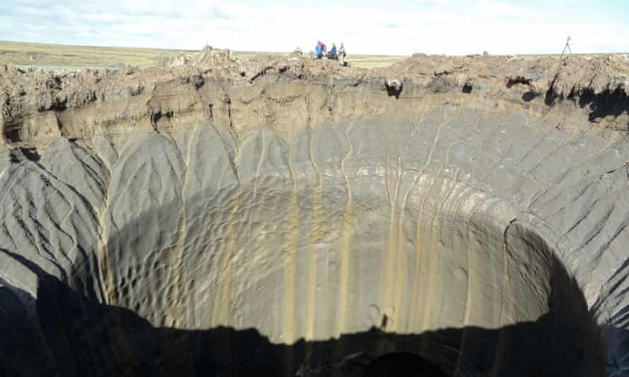russian crater