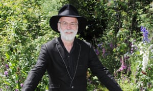 Terry Pratchett at the Chelsea Flower Show in 2011.
