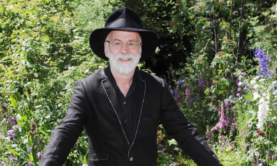 Terry Pratchett at the Chelsea Flower Show in 2011.
