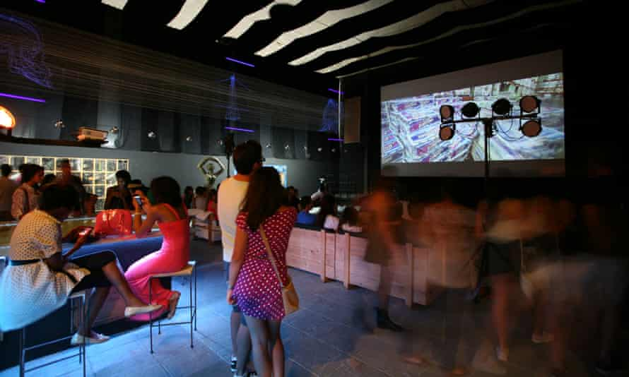 La Fábrica de Arte Cubano is a buzzy nightspot with art, live music and clothes by local designers on sale