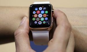 Presentation of Apple's new Apple Watch in Berlin