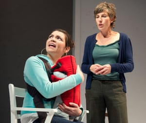 Motherhood and theatre … a scene from April De Angelis's play Jumpy.