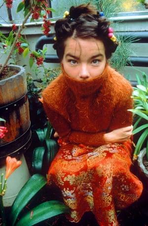 Björk in 1998, after the release of Homogenic.
