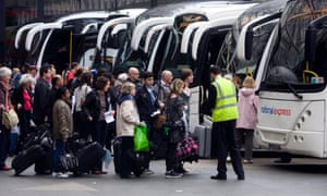 Staff in National Express's bus division will receive the living wage from January 2016.