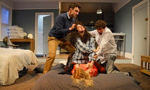 Tensions run high in the Bath production of Bad Jews.
