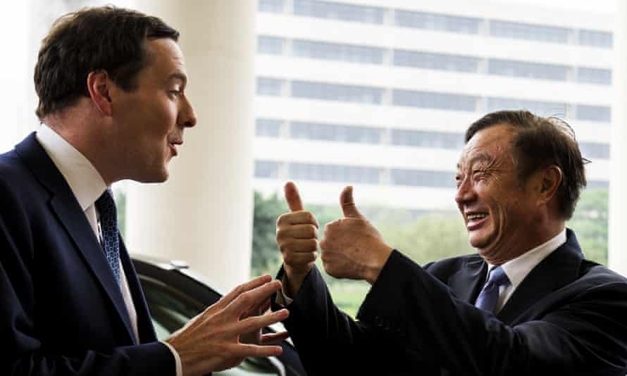 George Osborne on a 2013 trade visit to China. The chancellor has been a keen backer of closer economic ties.