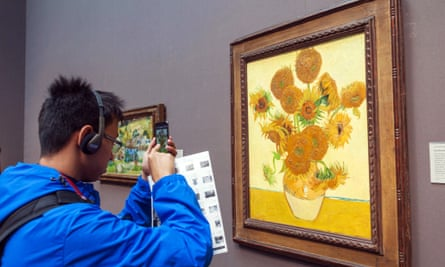 Sunflowers by Vincent Van-Gogh