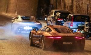 Spectre shoots in Rome.