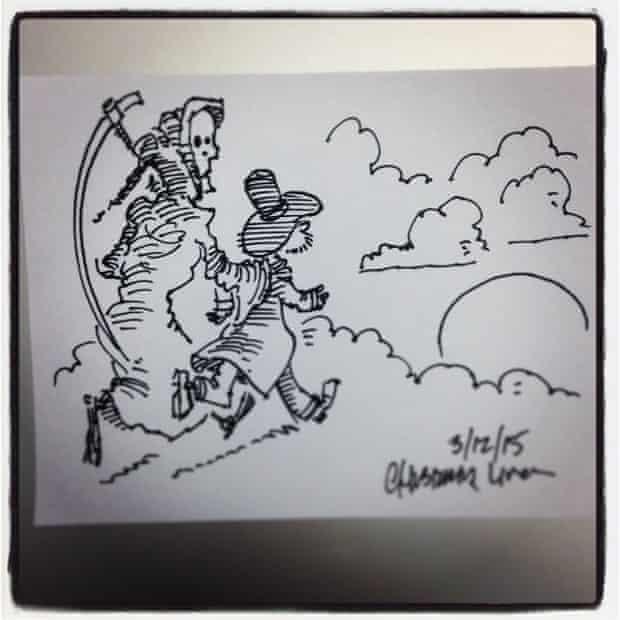 Pratchett doodle