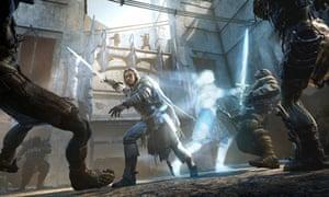 A screenshot from Destiny