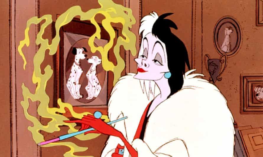 Smoking Cruella de Vil 101 Dalmatians