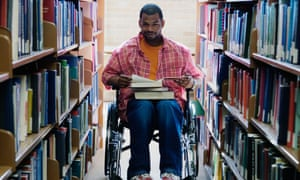 Disabled students say they are afraid to be open about their condition.