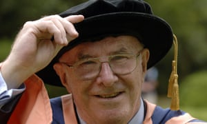 Clive James receives his honorary doctor of letters at the University of East Anglia in 2006.