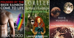 Ebook covers.