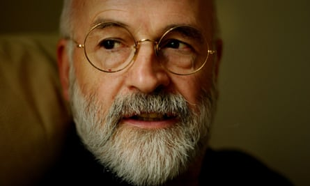 Terry Pratchett at his home in Wiltshire