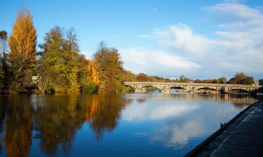 bridge over river blackwater