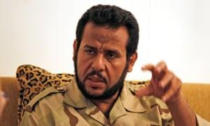 Abdel Hakim Belhaj in Tripoli, Libya, in 2011.