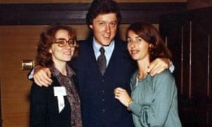 Hillary Clinton and Diane Blair, 1979