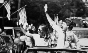 Bill and Hillary Clinton 1987