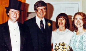 Bill and Hillary Clinton with Jim and Diane Blair