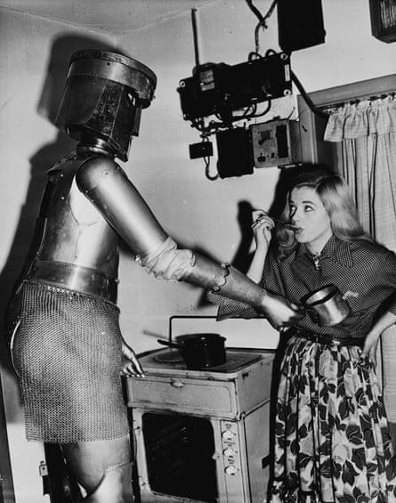 Robot cooking food