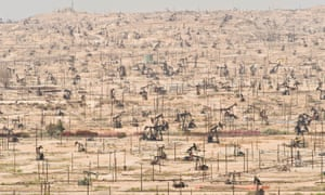Oil wells in California