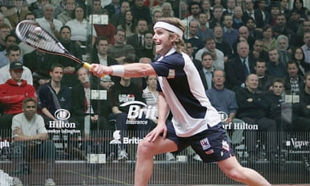 Peter Nicol defeated ranking world number one  David Palmer in the final of the 2006 Commonwealth Games.