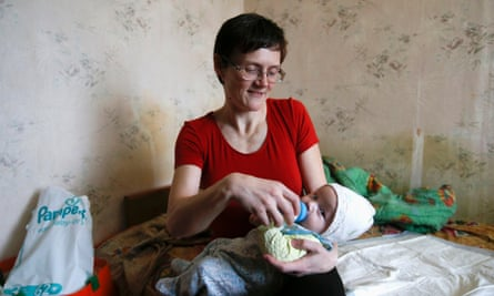 Svetlana Davydova with her daughter Kassandra.