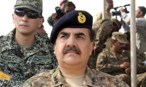 raheel sharif pakistan military