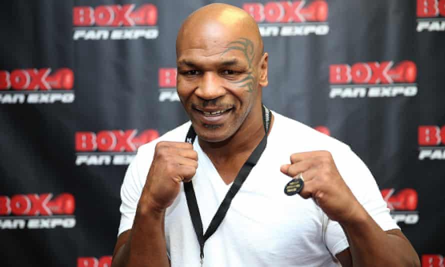 Mike Tyson in September 2014.