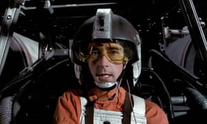 New mission? Denis Lawson as Wedge Antilles, the X-Wing fighter pilot in Star Wars.