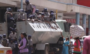 Zimbabwe police sealed the headquarters of the opposition party in Harare as tensions rose over the disappearance of an activist, Itai Dzamara, who has been missing since Monday.