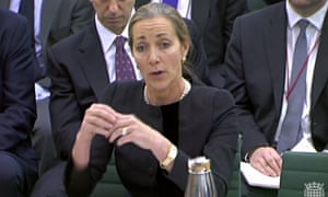 Rona Fairhead before the Public Accounts Committee